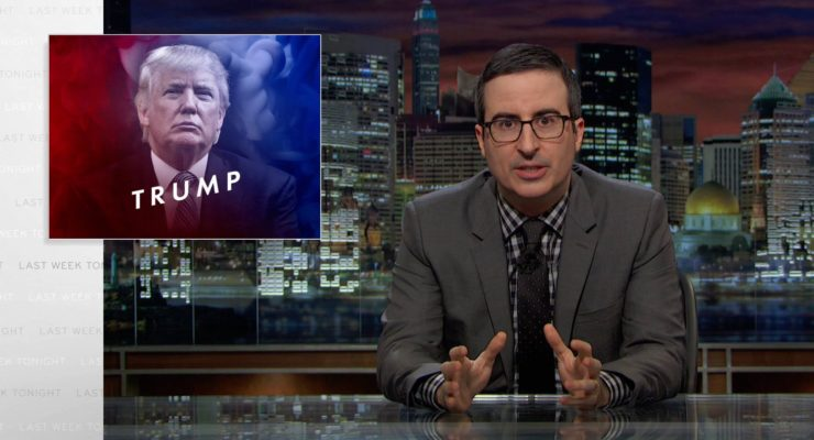 "John Oliver on Trump:  ""I'm Rich, therefore I Tell the Truth"""