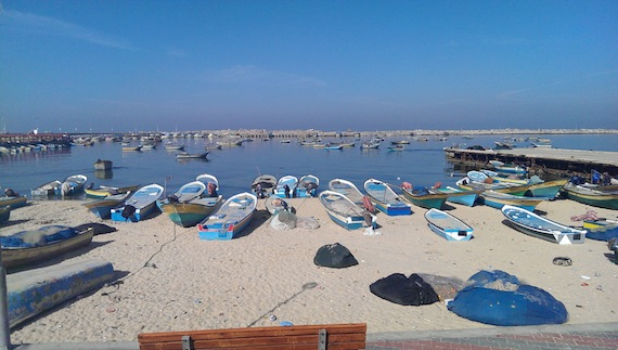 Gaza Photo Blog: Palestinian Fishermen Idled by Israeli Policies