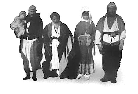 Yezidi Kurdish Family in Syria, 1899 (Photo of the Day)