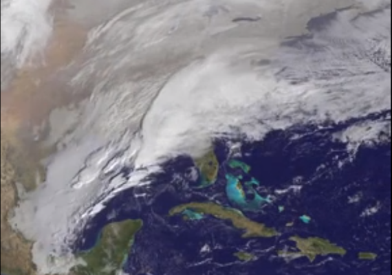Yes, Virginia, Global Warming can mean Heavier Snowstorms (for a while)