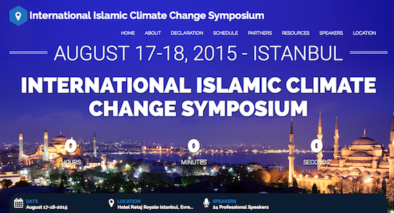Defying Saudis, Iran:  Muslim thinkers  call for Action on Climate Change at Istanbul Conference
