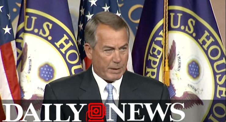 Boehner: Ted Cruz is Lucifer,  most miserable SOB I've worked with