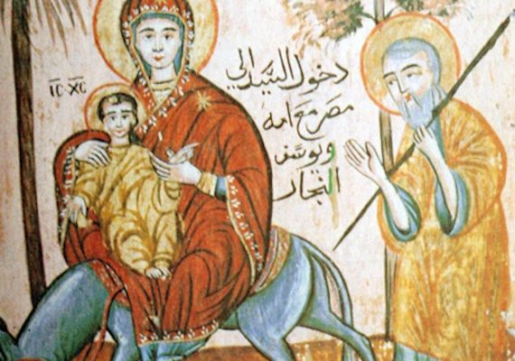 The Flight to Egypt – Coptic Artwork (Picture of the Day)