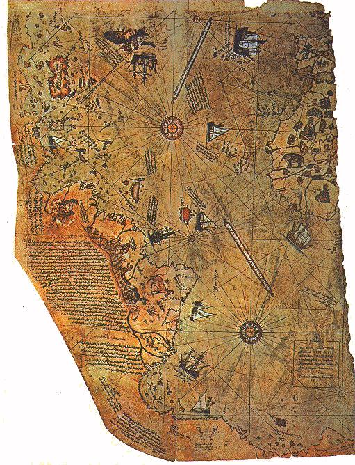 What Was The Piri Reis Map? | Sporcle Blog