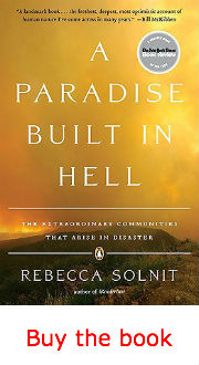 Severe Weather, Climate Change and Corporate Greed (Solnit)