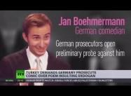 Turkey's Pres. Erdogan demands Germany prosecute comedian over satirical poem