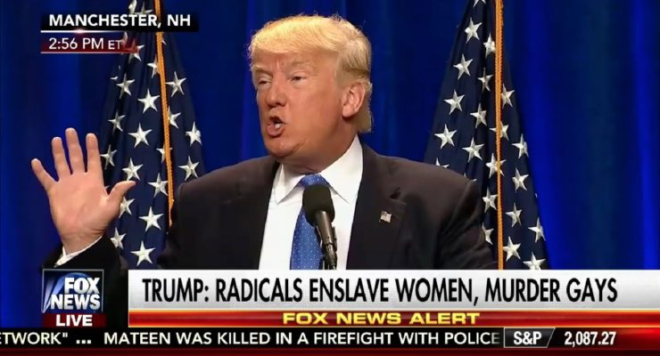 Trump's response to Orlando massacre proves just how dangerous he is