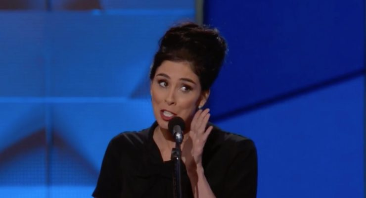Sarah Silverman to Bernie or Bust folks at DNC 2016: You are being ridiculous