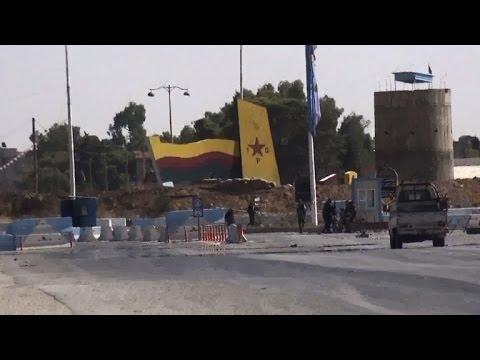 US-Allied Kurds advance in Hasaka City, NE Syria