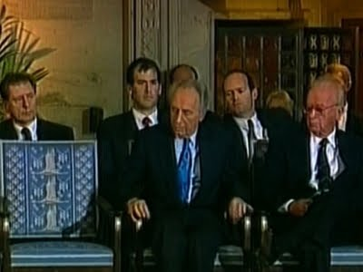 RIP Shimon Peres:  Last Great Israeli leader to believe in 2 State solution
