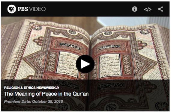 """The Meaning of Peace in the Quran"" – Juan Cole @ PBS"