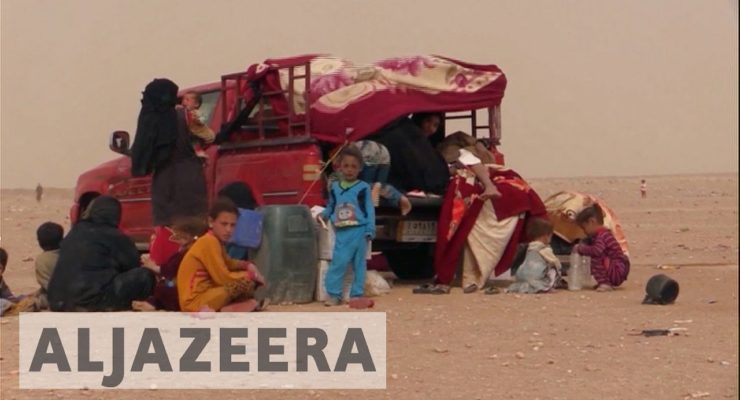 Raining Bombs:  Mosul Fight hits Trapped Civilians
