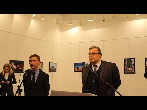 Why do they Hate Putin's Freedoms?   Russian Ambassador assassinated in Turkey