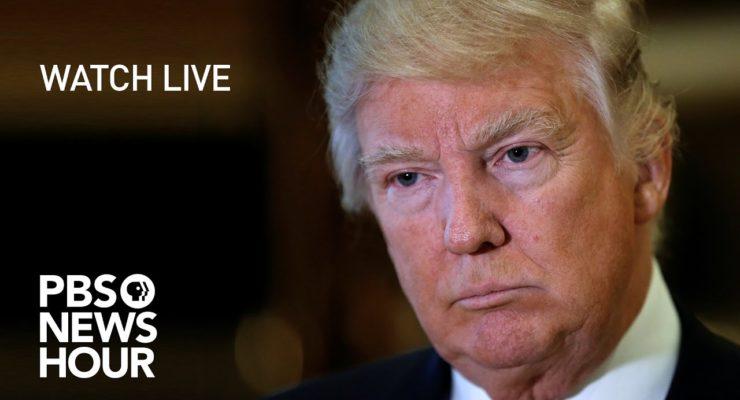 "Trump does Poor imitation of Tin-Pot Dictator at ""Press Conference"""