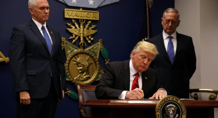 Trump Visa Denials target same countries Bush vowed to Overthrow