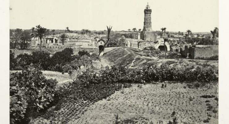Photo of the Day:  Gaza (the Old Town), 1862