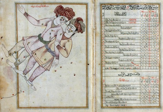 Image of the Day: Gemini Constellation,  As Seen in the Heavens, Iran,1630