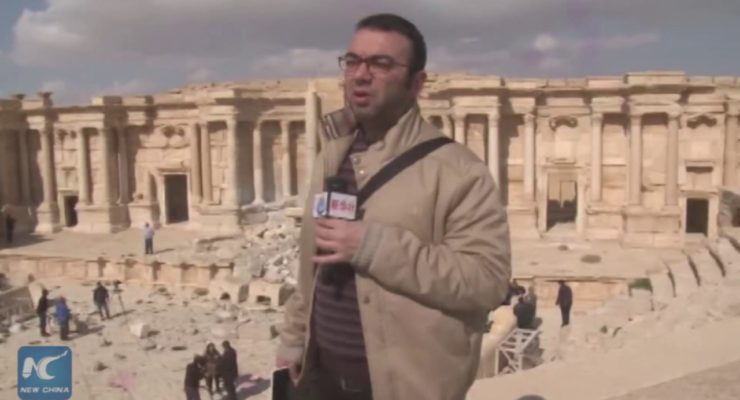 Syrian Musicians Celebrate Palmyra's Liberation