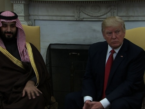 Trump & Saudi Arabia:  Oil Boycott or Bromance?