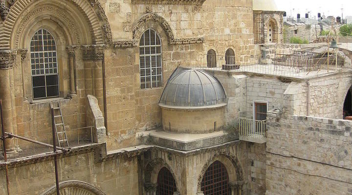 Everyone could celebrate Easter in Jerusalem except Palestinian Christians