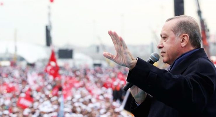 As Leftist Turks Protest, Trump congratulates Erdogan on Authoritarian Turn