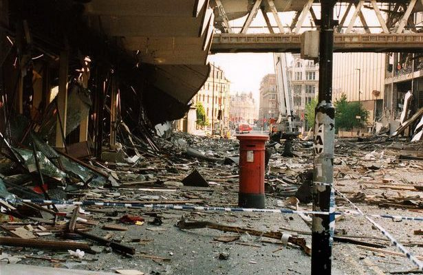 Terror and Geopolitics:  Manchester 2017 and 1996