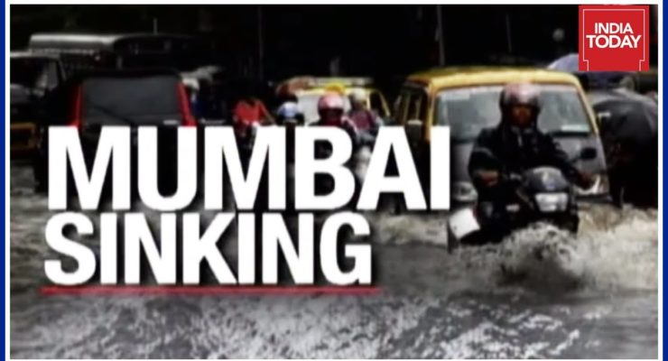 Epic Mumbai Flooding: 21 million People told to stay Home