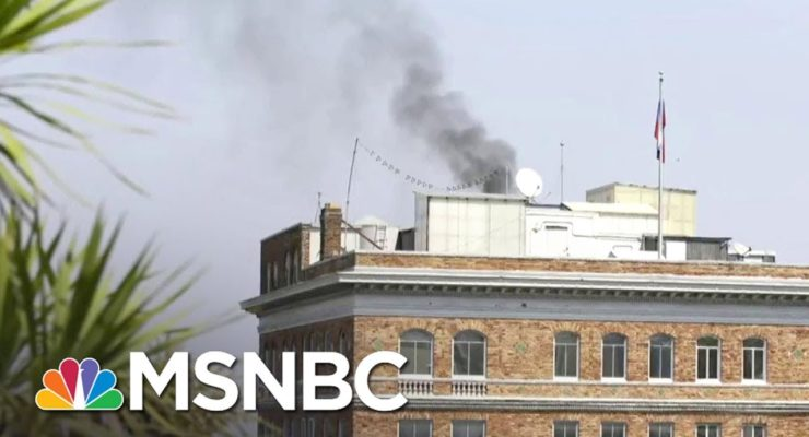 Heavy Smoke from SF Russian Consulate Chimney as Moscow Fears Search by US