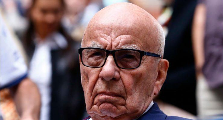 Climate Denier Rupert Murdoch's Estate Burned in LA December Wildfires