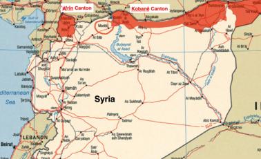 Syrian-Kurdistan-Map