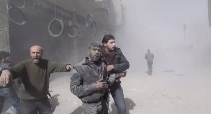 The Age of Total War in Syria