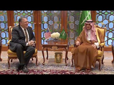 Pompeo to Saudi Arabia:  Mobilize against Iran and end Yemen War, Qatar Blockade