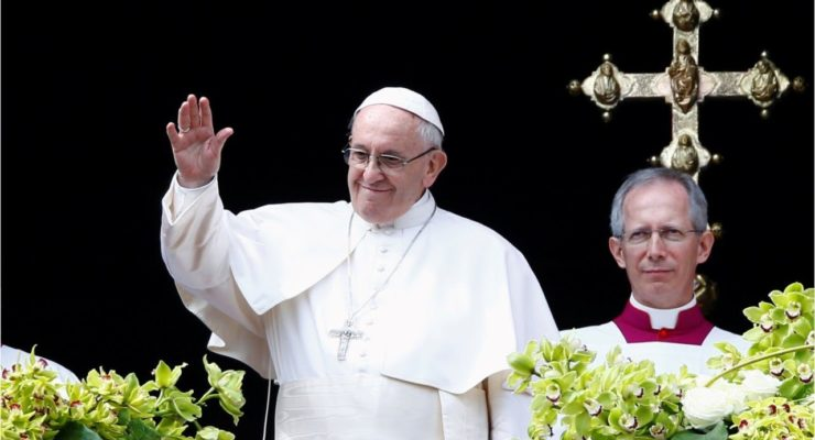 Pope, after Gaza violence, says 'defenceless' being killed in Holy Land