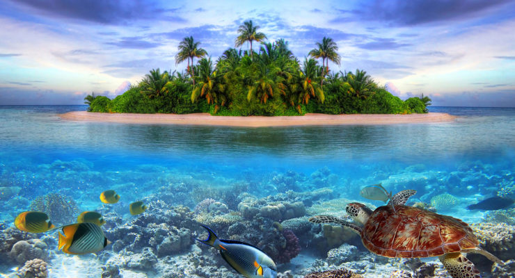 If Earth Warms past Paris Limit, those Tropical Islands you Love are in Big Trouble