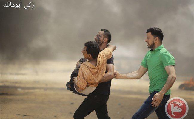 Israeli Snipers massacre Palestinians at Gaza Border Rally, killing 55 & injuring over 2,700