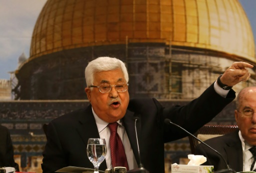 Palestinian president widely condemned for 'anti-Semitic' comments