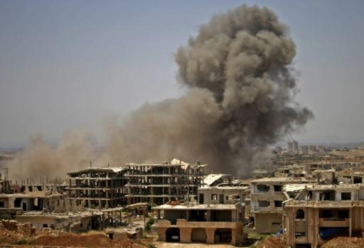 As 50,000 Flee Regime Assault on Daraa, Rebels Face Surrender or Death