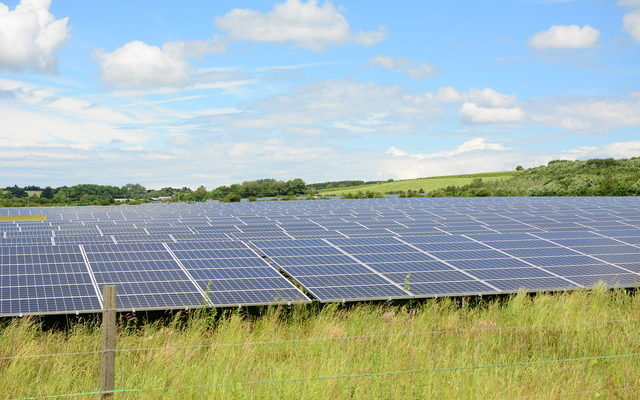 As UK hits 50% Renewables some Days, will a Huge new Solar Farm Change Everything?