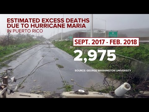 Storm Death Toll in Puerto Rico Rivals 9/11: But where is War on Climate Change?