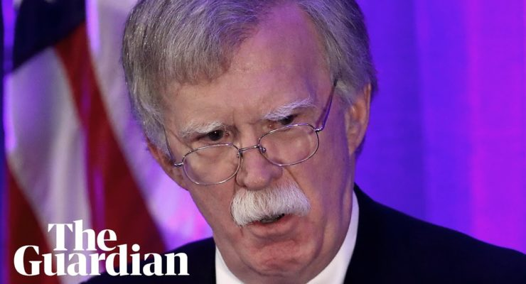 Bolton Attacked the Int'l Criminal Court for Fear Palestinians will Get Justice
