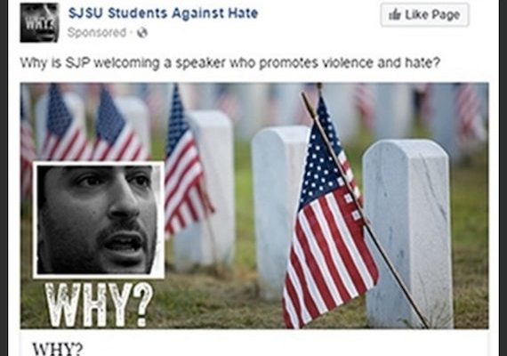 Israel-backed Group covertly Targeted US Campuses w/ Facebook Ads re: Pro-Palestinian Activist