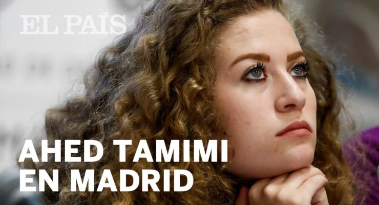 Israeli Authorities call Real Madrid Team Indirect Terrorists for giving Ahed Tamimi a Shirt