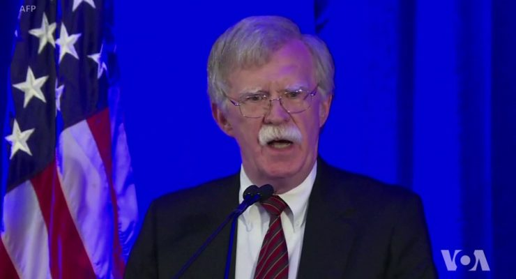 Top 3 Charges on which John Bolton should be Tried at Int'l Criminal Court
