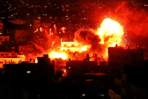 Israeli Airstrikes on Gaza kill 4, destroy TV Station, as Rockets kill 1 in Israel