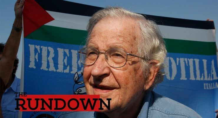 Chomsky: Occupation, Gaza 'Concentration Camp' turning Israel Fascist