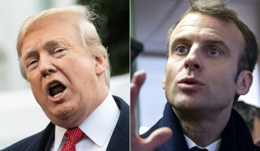 Trump Lashes out at France's Macron over 'Nationalism' as Bromance Dies