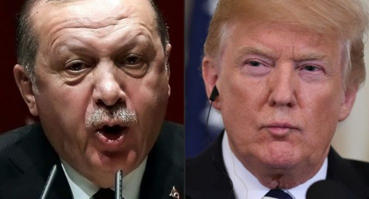 Trump abandons Syrian Kurds, and relations with Turkey Soar