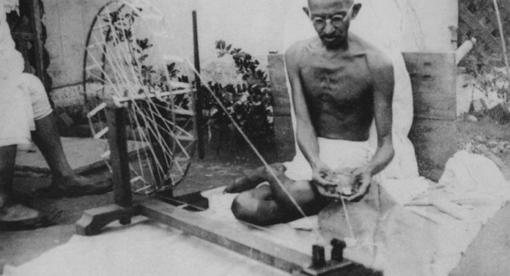 Why Gandhi's ideas on Nonviolence continue to thrive, even in the post-truth era