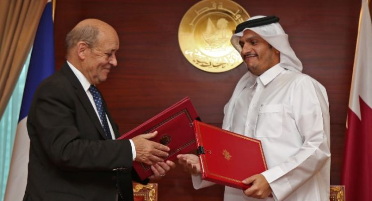 Qatar outflanks Saudi Boycott again, Concludes Strategic Pact with France