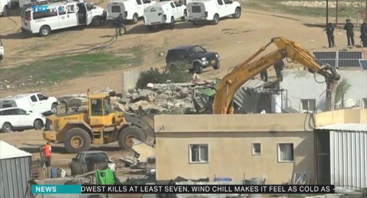 Israel demolishes Bedouin village Al-Araqeeb for 139th time, Plans Expulsion of 36,000